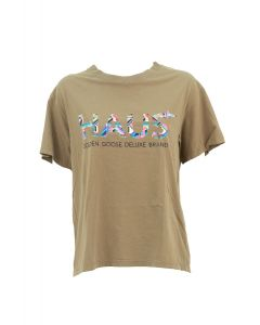 GOLDEN GOOSE T-shirt Donna VERDE
