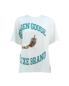 GOLDEN GOOSE T-shirt Donna BIANCO