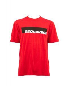 DSQUARED2 T-shirt Uomo ROSSO