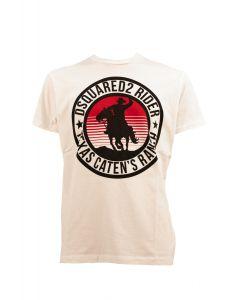DSQUARED2 T-shirt Uomo BIANCO