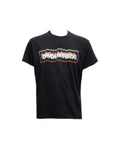 DSQUARED2 T-shirt Uomo NERO