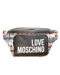 LOVE MOSCHINO MARSUPIO Donna NERO