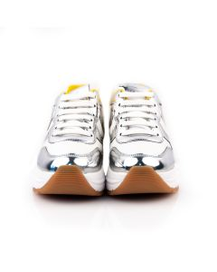 VOILE BLANCHE Sneakers Donna ARGENTO