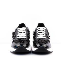 VOILE BLANCHE Sneakers Donna NERO