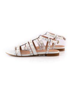 TWIN-SET Sandalo Donna BIANCO
