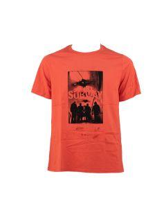 NEIL BARRETT  T-shirt Uomo ROSSO