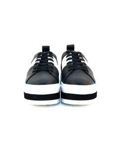 TRUSSARDI JEANS Sneakers Donna NERO